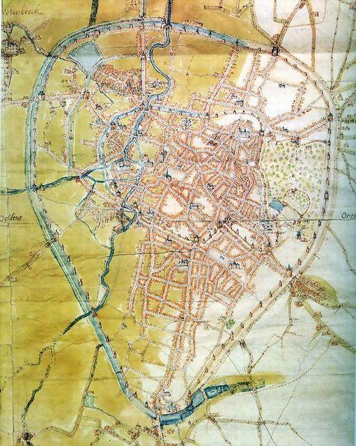 Carte de Deventer